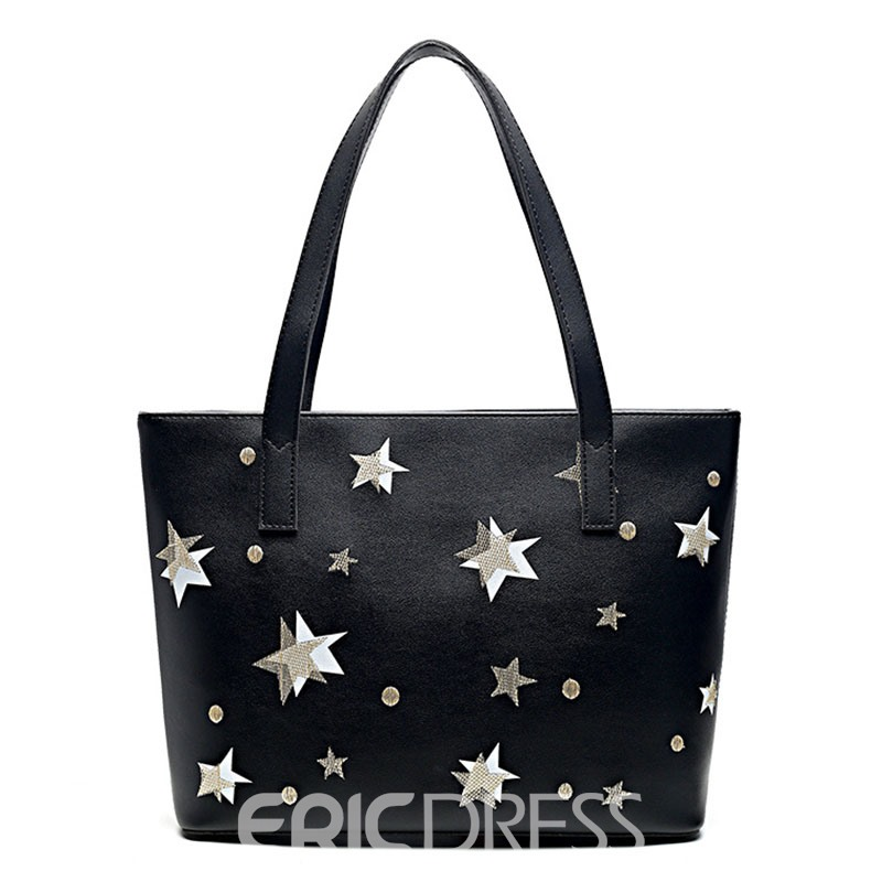 Ericdress Casual Pentagram Printing Tote Bag