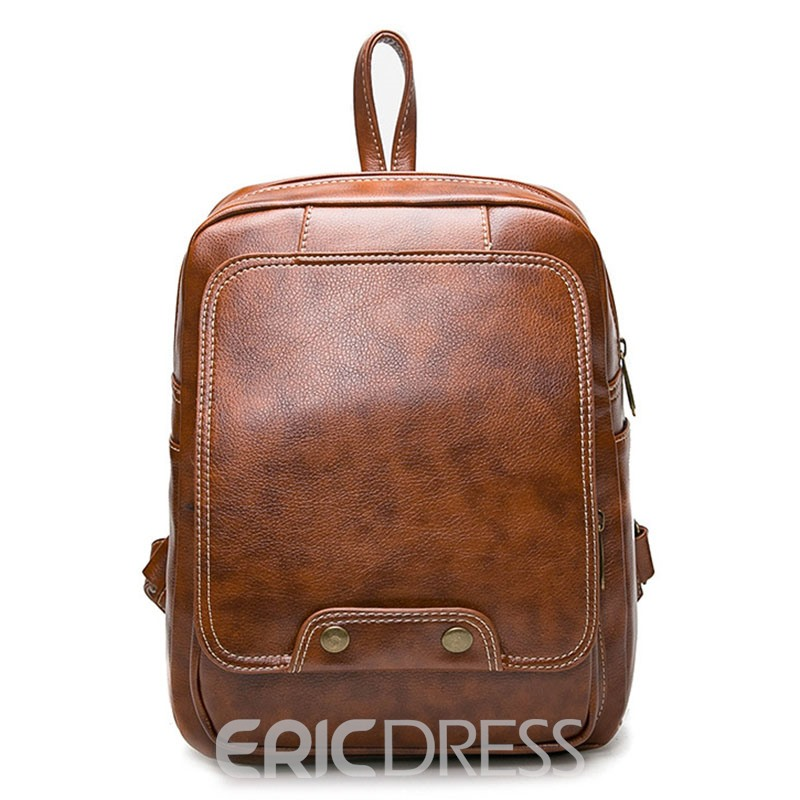 Ericdress Preppy Chic Concise Women Backpack