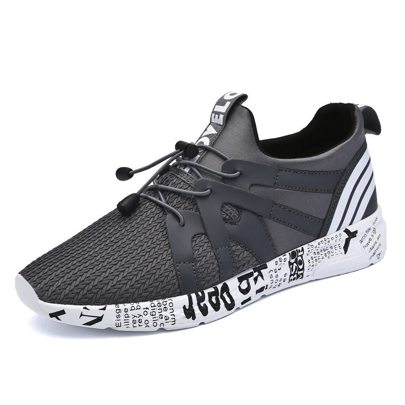 Ericdress Stripe Low-Cut Patchwork Men's Athletic Shoes ...