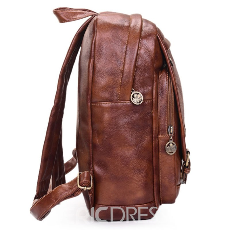 Ericdress Retro Preppy Chic Women Backpack