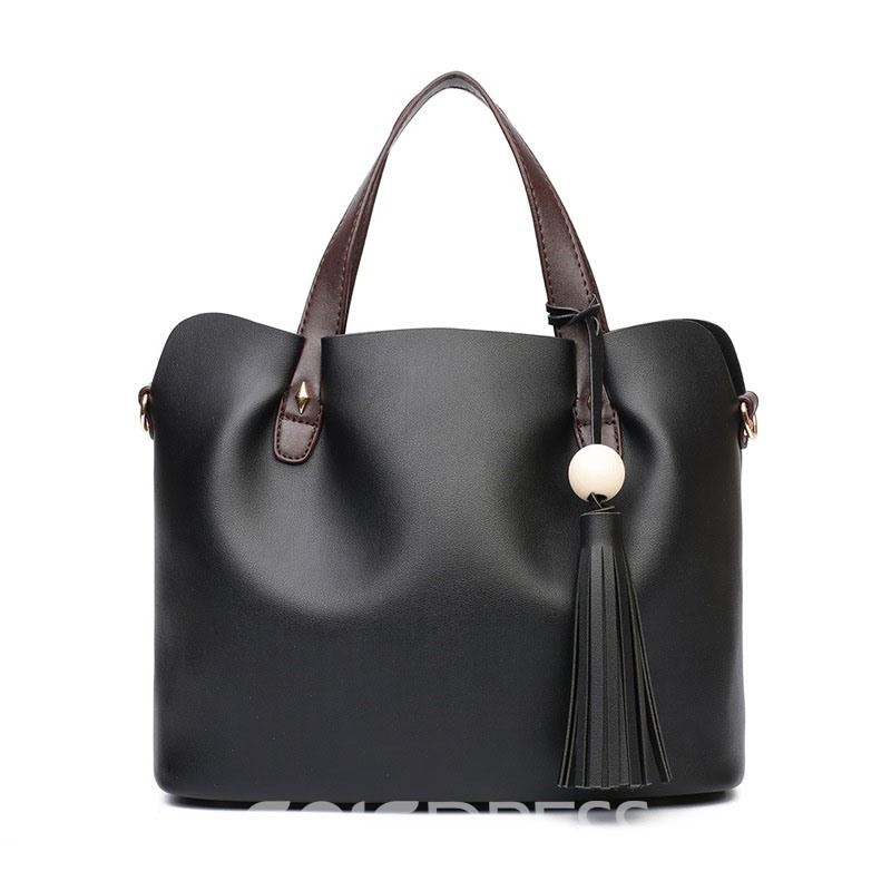 Ericdress Occident Style Tassel Adornment Handbag( 2 Bags)