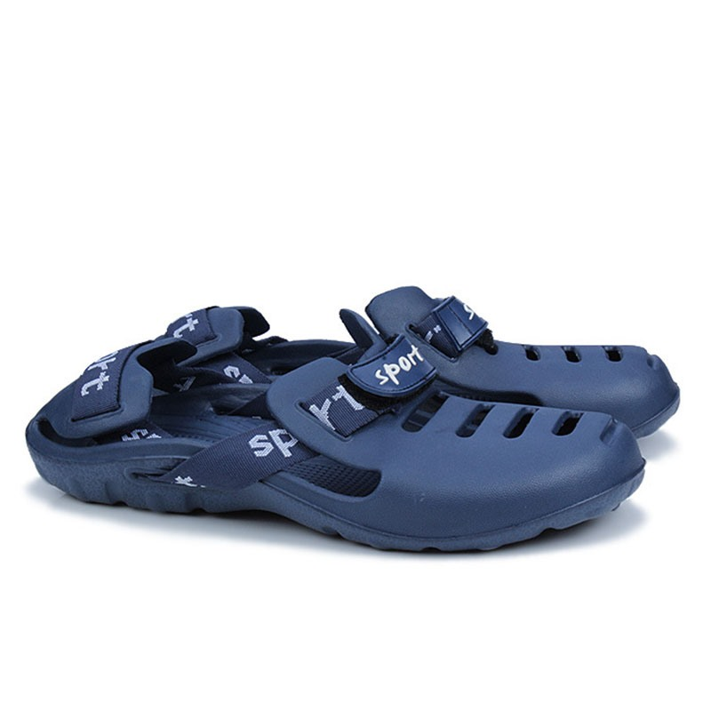 Ericdress Hollow Round Toe Men's Sandals