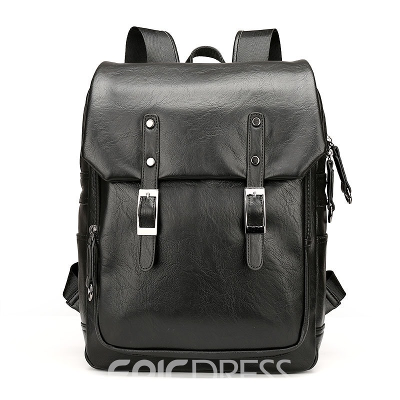 Ericdress Stylish Solid Color Men's Travel Bag