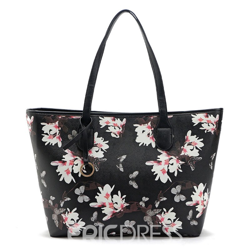 Ericdress Portable Printing Pattern Tote Bag