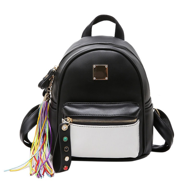 Ericdress Lovely Colorful Tassel Pendant Backpack