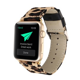 Ericdress Leopard Print Leather Smart Watch