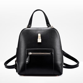 Ericdress Preppy Chic Pure Color Mini Backpack
