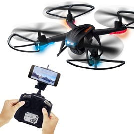 Ericdress GW007-2 FPV Quadcopter with 200W Camera Wifi Control Pocket Air Selfie Drone