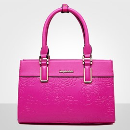 Ericdress Graceful Floral Embossing Women Handbag