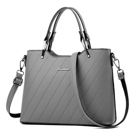 Erircdress All Match Pure Color Women Satchel