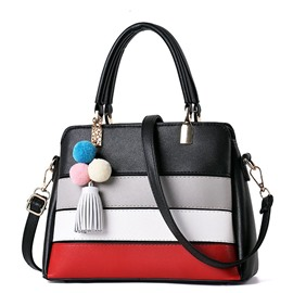 Ericdress Concise Color Block Women Handbag