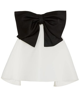 Ericdress Color Block Bowknot Backless Vest