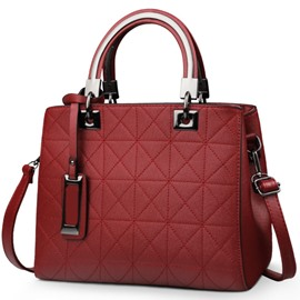 Ericdress Terrific Stitching Pattern Women Handbag