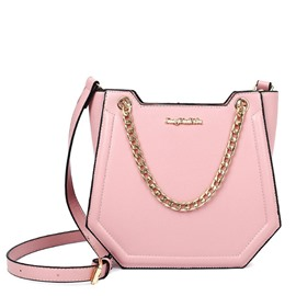 Ericdress Fresh Style Pure Color Chain Crossbody Bag