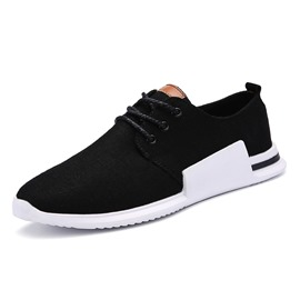 Ericdress Canvas Round Toe Plain Men's Athletic Shoes