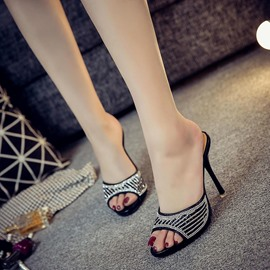 Ericdress Flip Flop Platform Stiletto Mules Shoes