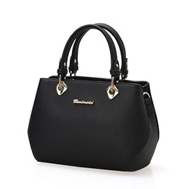 Ericdress Luxury Litchi Stria Women Handbag