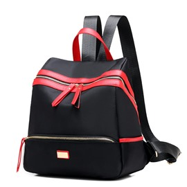 Ericdress Trendy Waterproof Nylon Backpack