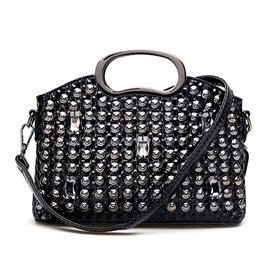 Ericdress Exquisite Rhinestone Adornment Women Handbag