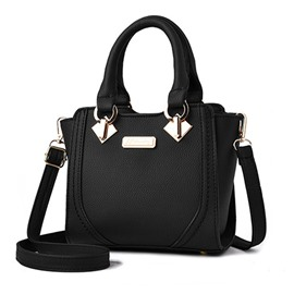 Ericdress Trendy Solid Color Women Handbag