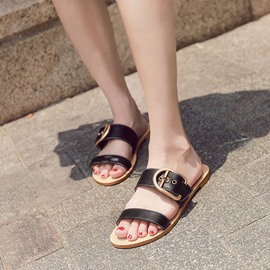 Ericdress Flip Flop Buckle Mules Shoes