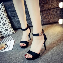 Ericdress Sweet Open Toe Stiletto Sandals