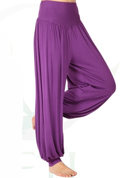 Ericdress Elastics Pleated Pants