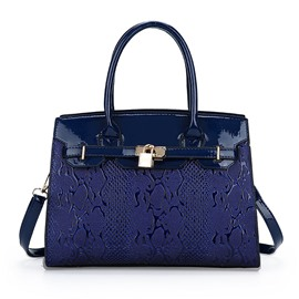 Ericdress Classic Lock Decoration Women Handbag