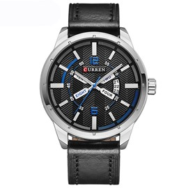 Ericdress Round Case Calendar Display Men's Watch