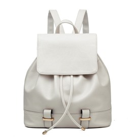 Ericdress Casual Solid Color Backpack