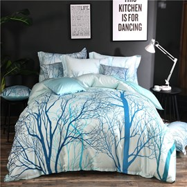 Cotton Four-Piece Set Machine Wash Duvet Cover Set