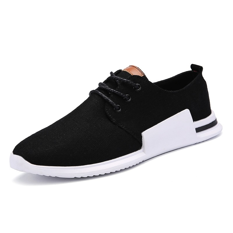 Ericdress Canvas Round Toe Plain Mens Athletic Shoes 12887056