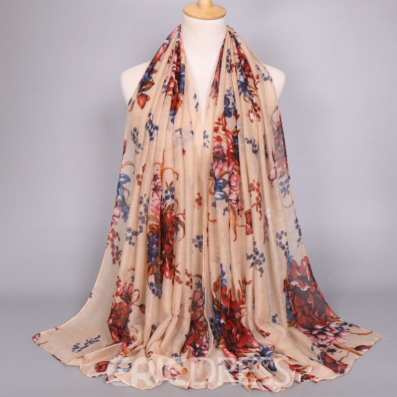 Ericdress Voile Printed Scarf for Women