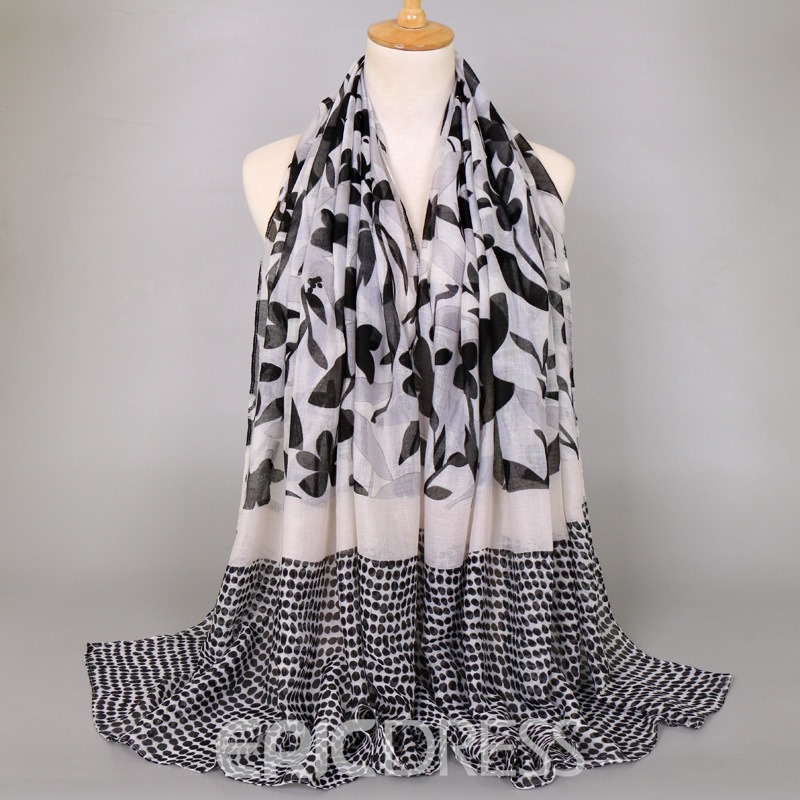 Ericdress Floarl Patchwork Elegant Scarf for Women