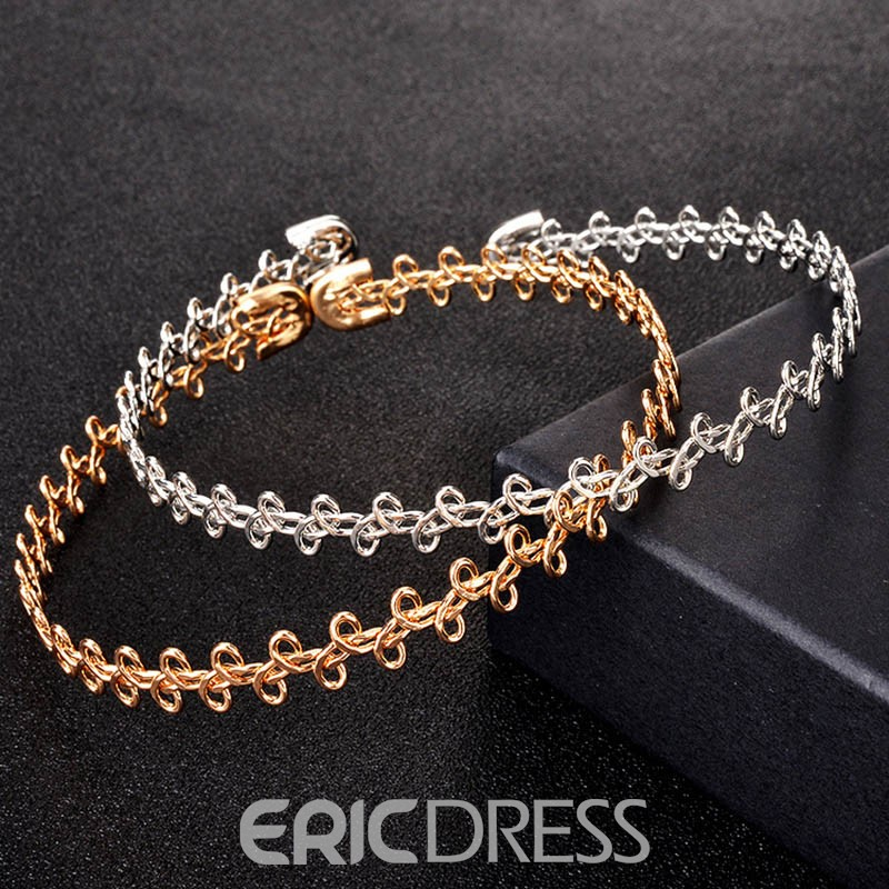 Ericdress Concise E-Plating Charm Necklace for Lady