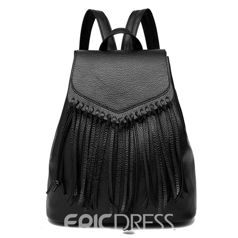 Ericdress Casual Nifty Tassel Design Backpack