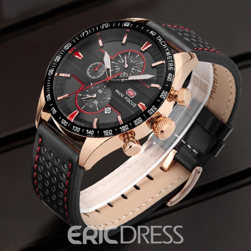 Ericdress JYY Casual 3ATM Waterproof Pin Buckle Men's Watch