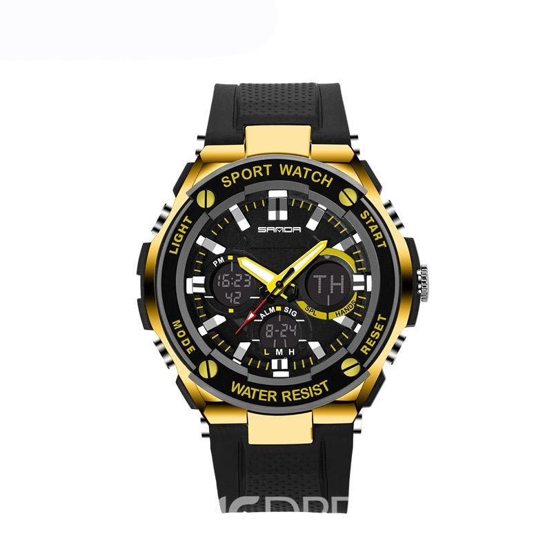 Ericdress JYY SANDA Multifunctional 3ATM Outdoor Men's Sport Watch