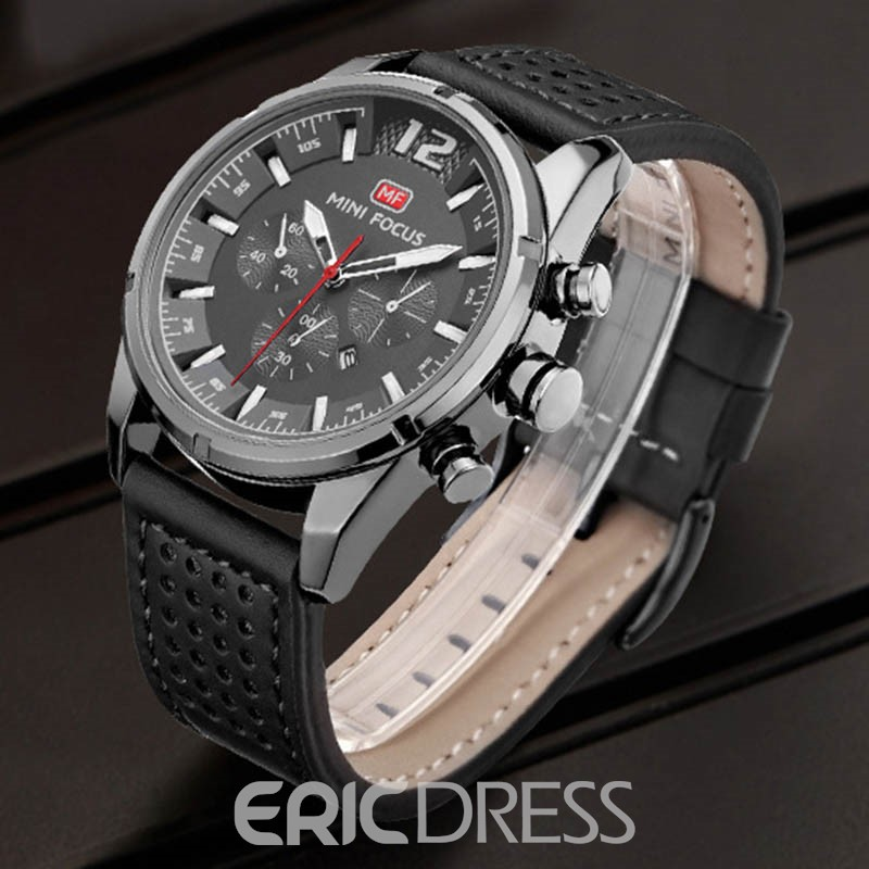 Ericdress JYY Quartz Movement Pin Buckle Men's Watch
