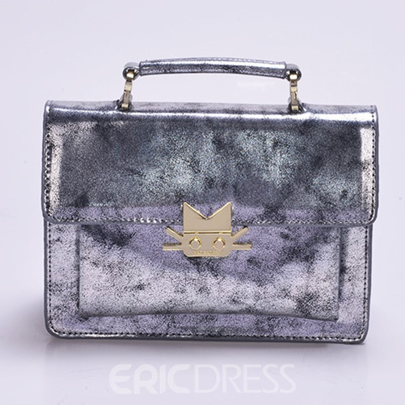 Ericdress Vogue Mirror Plate Crossbody Bag