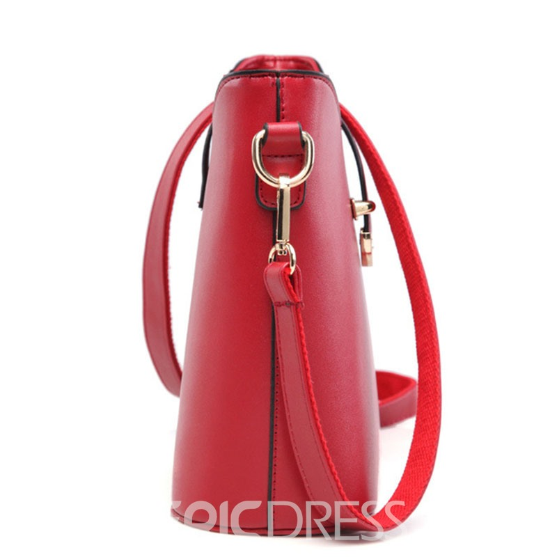 Ericdress Korean Style Bucket Crossbody Bag