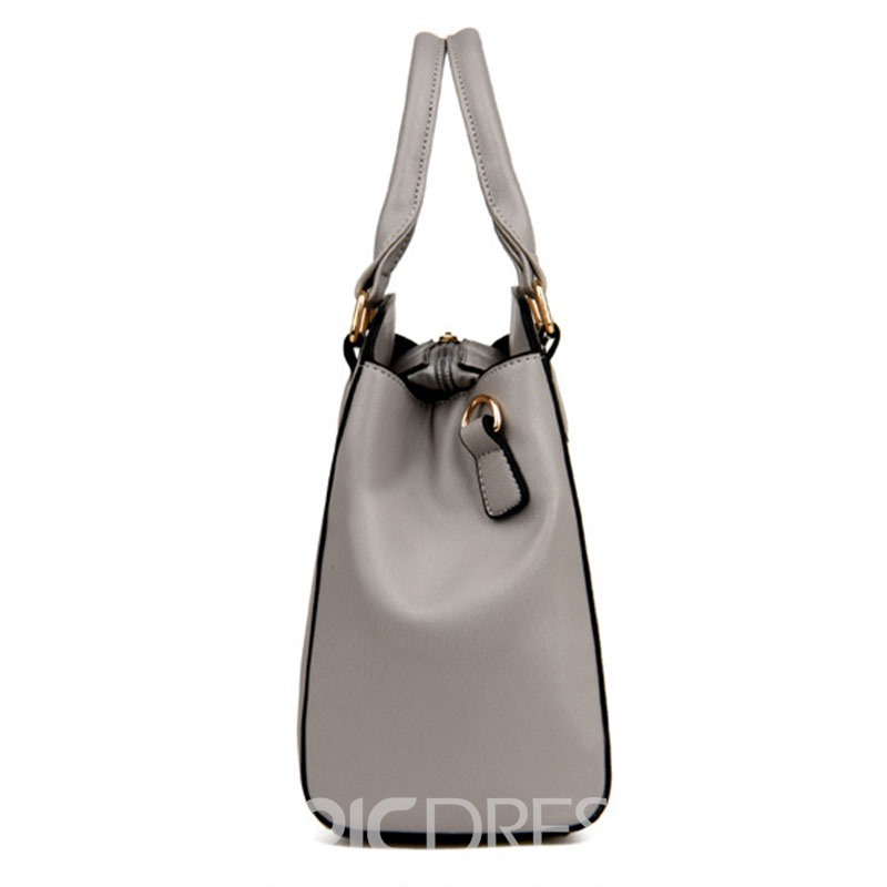 Ericdress Occident Style Solid Color Women Handbag
