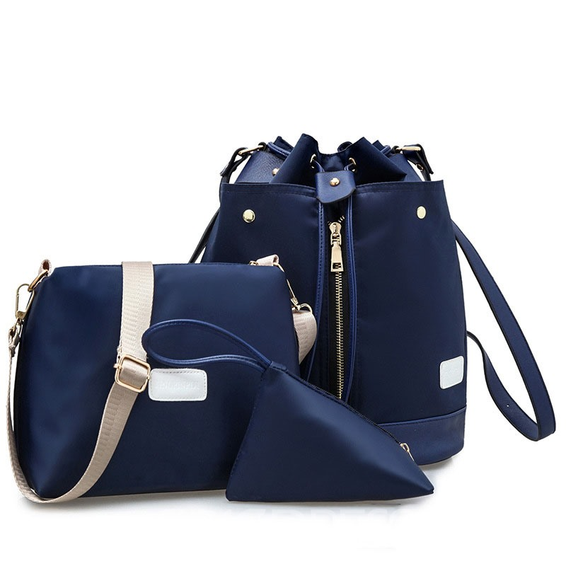 Ericdress Casual Waterproof Nylon Bag Set