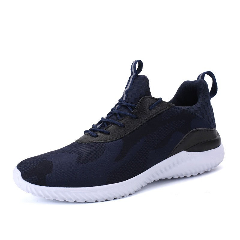 Ericdress Mesh Lace-Up Patchwork Men's Athletic Shoes