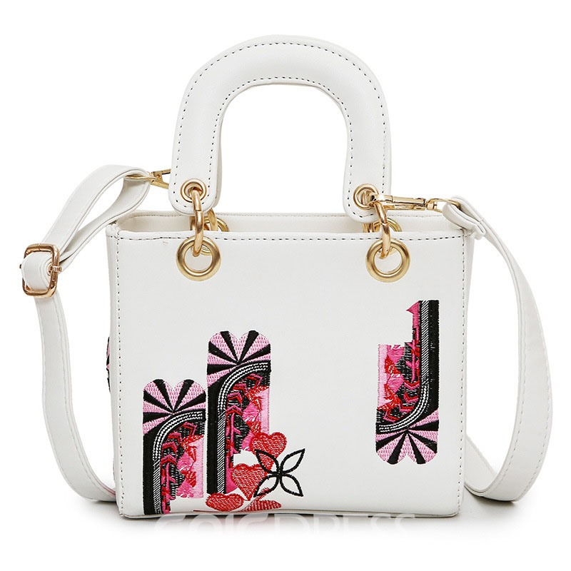 Ericdress Personalized Printing Crossbody Bag