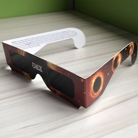 Ericdress Anti-UV Solar Eclipse Glasses Paper Frame for Protecting Your Eyes