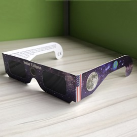 Ericdress Solar Eclipse Glass Safety Viewing 2017 Galaxy Edition