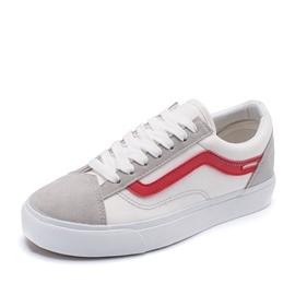 Ericdress Canvas Round Toe Lace-Up Men's Sneakers