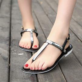 Ericdress Popular Strappy Flat Sandals with Buckle