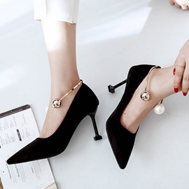Ericdress Fashional Pointed Toe Stiletto Pumps